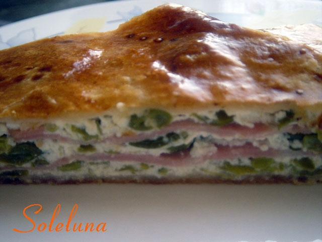 Ricetta torta salata ricotta mortadella