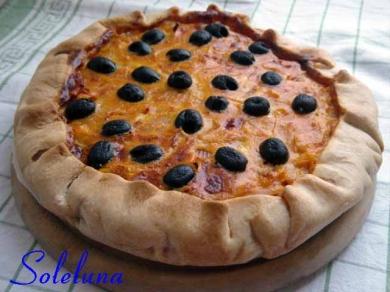 cipolle, uova, olive, cucina, quiche