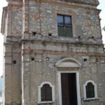 Facciata pricipale del monastero San Pietro in Lam